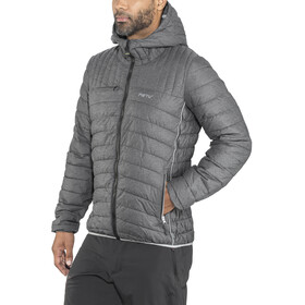 Meru M's Amberly Padded Jacket Black Melange